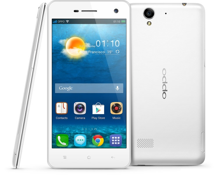 Oppo R819 dual-SIM Smartphone announced; Specs and Price
