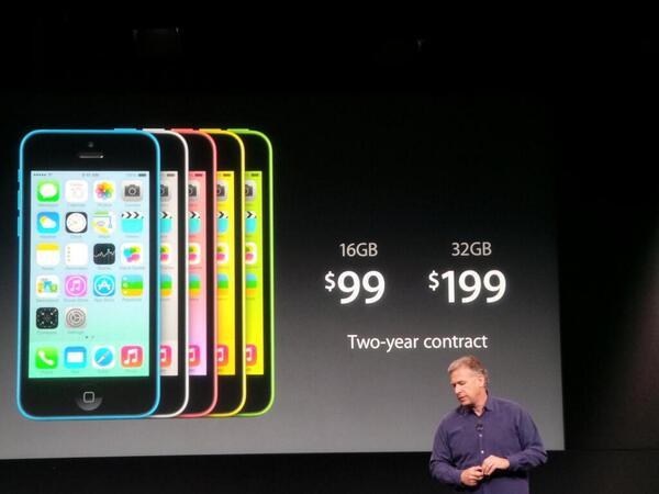 Apple unveils iPhone 5C and 5S
