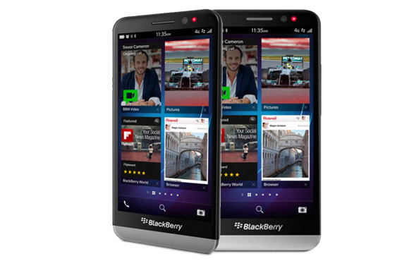New BlackBerry Z30 with BB10.2