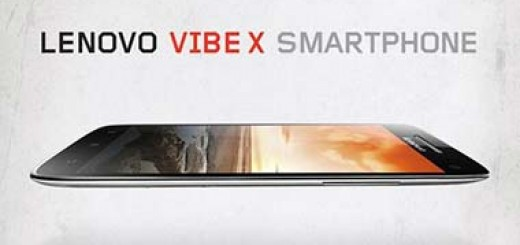 Lenovo announces Vibe X with 5' Full HD Screen and 1.5GHz Quad-core CPU