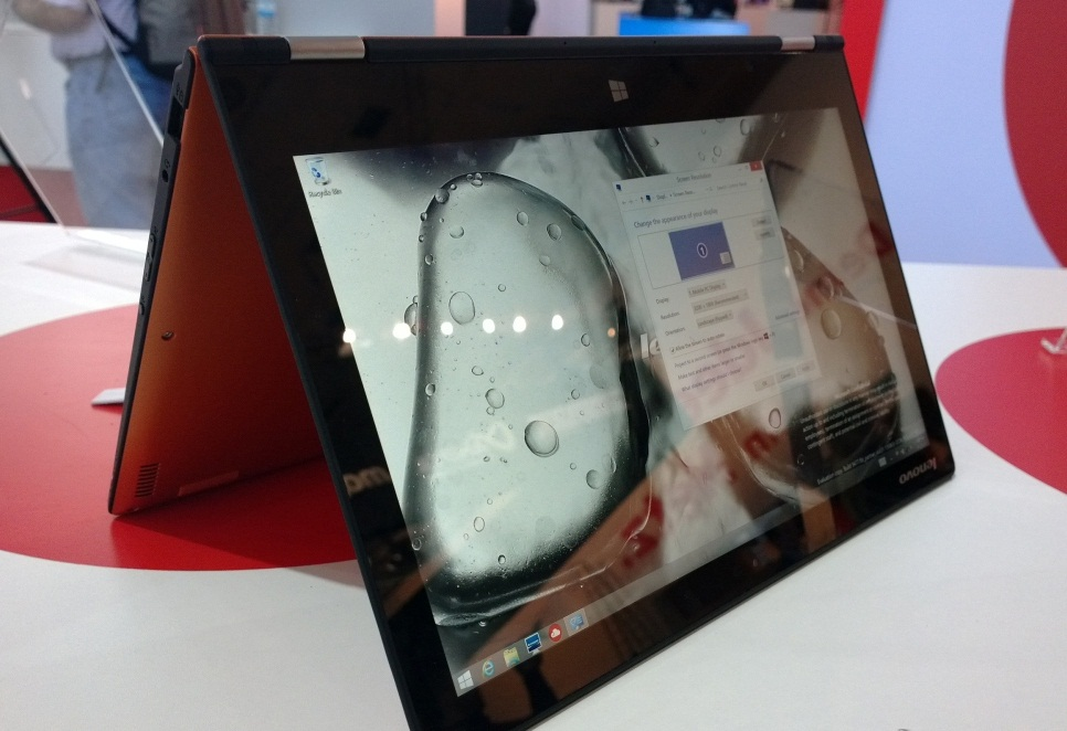 Lenovo Yoga 2 Pro unveiled at IFA 2013