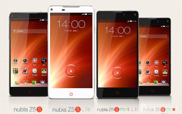 ZTE launches Nubia Z5S and Nubia Z5S Mini