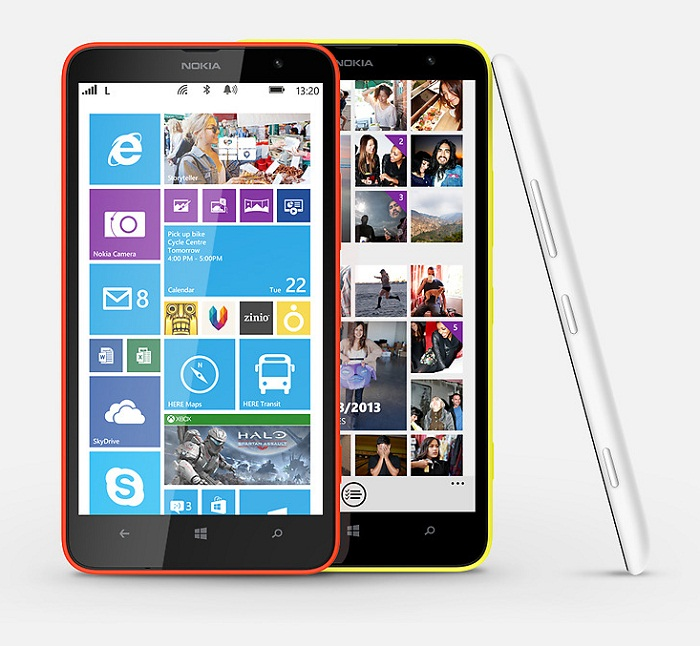 Nokia Lumia 1320 techprezz Nokia releases Lumia 1320 in China; Taiwan, Singapore and Hong Kong to follow
