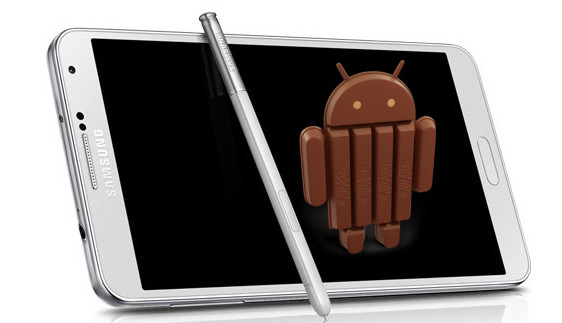 Exynos Galaxy Note 3 gets Android 4.4 KitKat Update