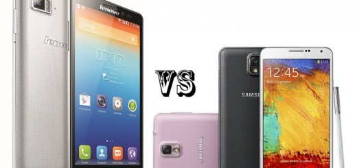 Lenovo Vibe Z vs Samsung Galaxy Note 3