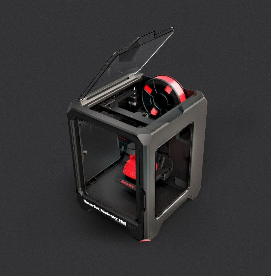 MakerBot Replicator Desktop, Mini and Z18 3D printers announced; Specs and Price