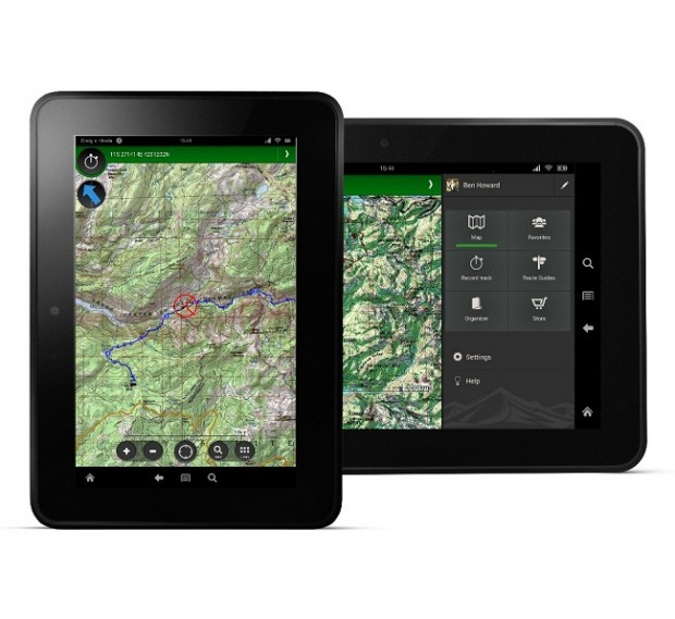 ViewRanger GPS App for Amazon Kindle Fire Tablet