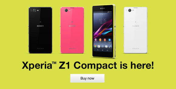 Sony Xperia Z1 Compact releases in UK and Germany