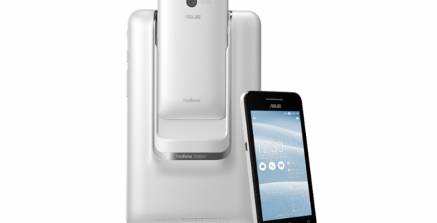 "Asus's new Padfone mini with Intel CPU and 4"" display announced at CES 2014"