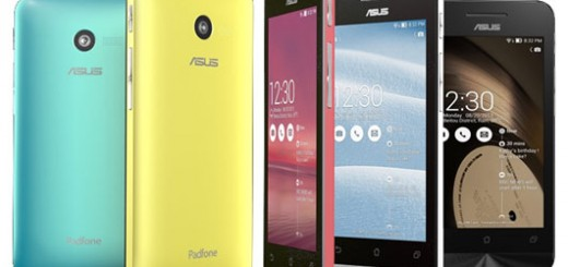 Asus ZenFone 4, 5 and 6 with Intel Atom CPU announced