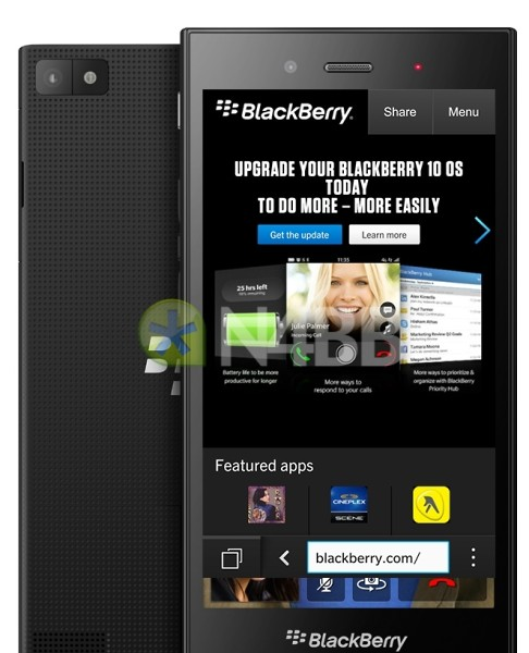 BlackBerry Z3 Jakarta Smartphone Images and Specs leak