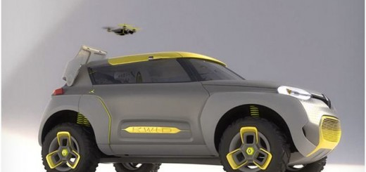 Renault Kwid Hatchback Concept with Drone