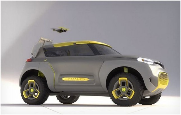 Renault Kwid 620x395 Renault Kwid, a concept Car with built in tiny Drone
