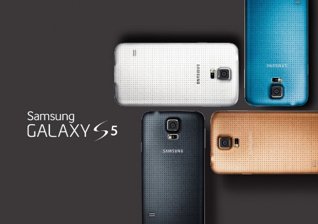 Samsung Galaxy S5 with Fingerprint Scanner unveiled; Specs & Price