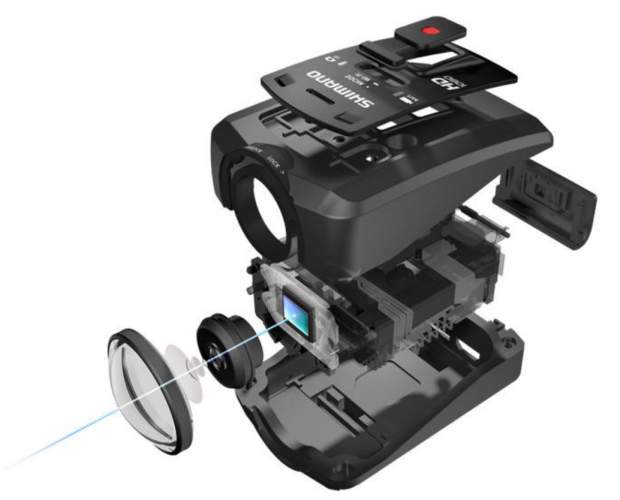 Shimano CM-1000 Sports Camera with 16MP sensor; Specs and Price
