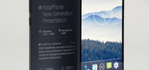 YotaPhone 2 with e-ink touchscreen Display announced at MWC 2014