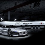 Mercedes AMG and Cigarette 50 Vision Gran Turismo Concpets at Miami Boat Show