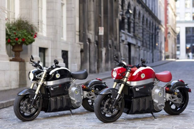 Lito Sora Electric Motorcycle with integrated GPS; pricing $42,000