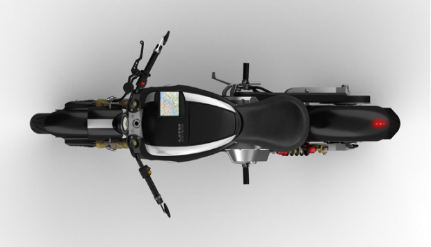 lito sora motorcycle 10 620x356 Lito Sora Electric Motorcycle with integrated GPS; pricing $42,000