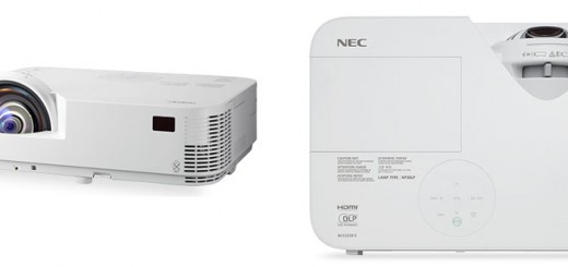 NEC M332XS, M352WS Short Throw Projectors unveiled; Specs, Price
