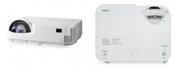 nec m352 short throw projectors 620x232 NEC M332XS, M352WS Short Throw Projectors unveiled; Specs, Price