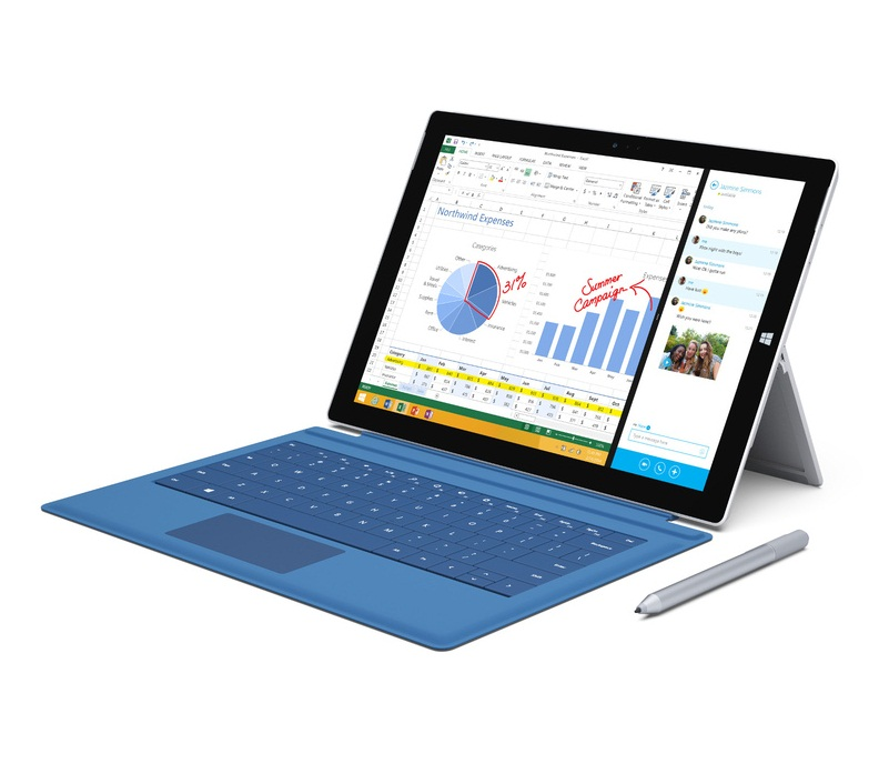 Microsoft Surface Pro 3 full Specifications