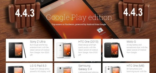 Android 4.4.3 KitKat Update for Google Play Edition Phones released