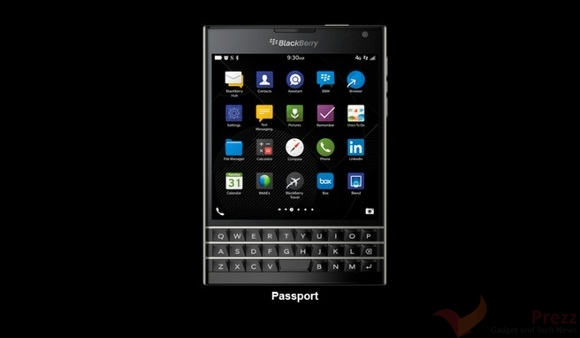 BlackBerry Passport on Sale in the US, UK, Canada