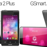 Gigabyte Roma 2 Plus and GSmart Arty A3