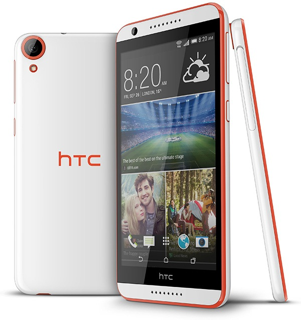 HTC Desire 820 with mid-end Specs unveiled; boasts 64-bit processor