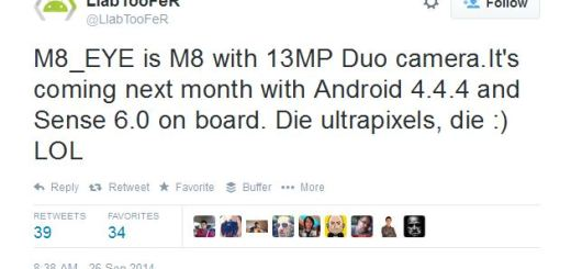 HTC M8 Eye Rumors