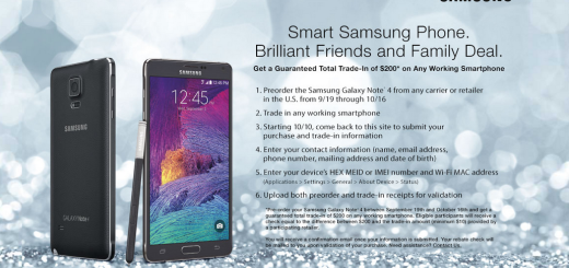 Samsung Galaxy Note 4 Total Trade-in Deal