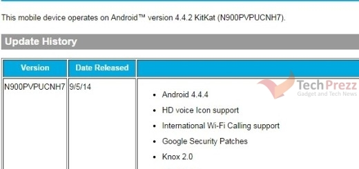 Sprint Galaxy Note 3 Android 4.4.4 KitKat Update