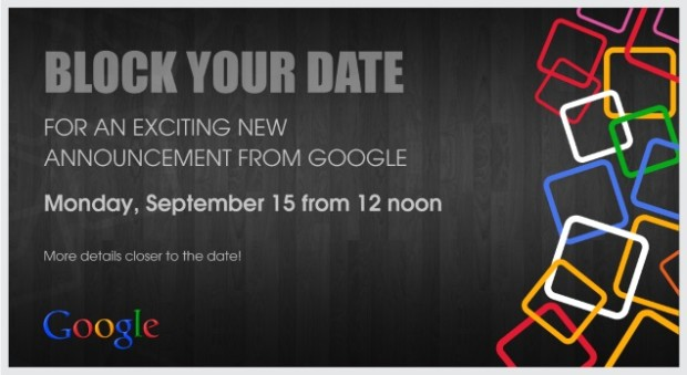 Google sends out Invites for Septmber 15 Event in India; Android One