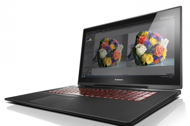 "Lenovo Y70 Touch Gaming Notebook with 17"" Display"