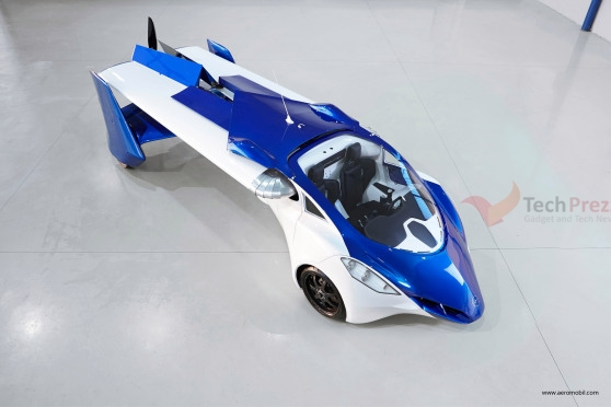 Slovakia's AeroMobil 3.0 flying Car unveiled at Pioneers Festival