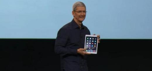 Apple iPad Air 2 unveiled