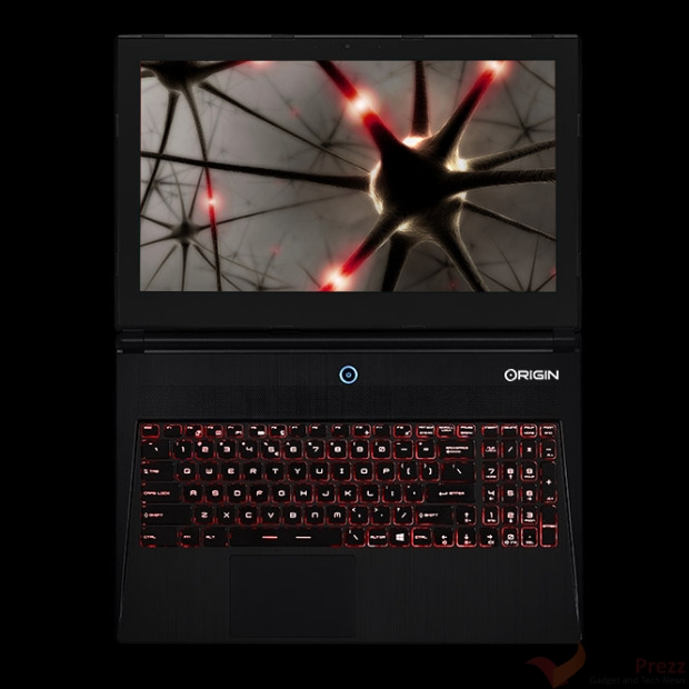 Origin PC EVO15-S Gaming Notebook specs and features
