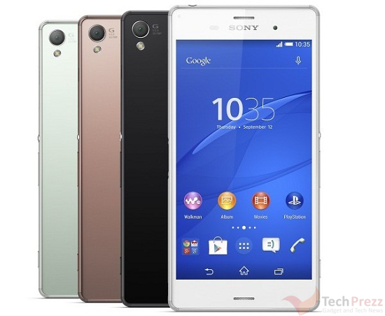 T-Mobile Sony Xperia Z3 Pre-order begins on October 15; releasing on October 29