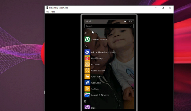 How to access Windows Phone from PC