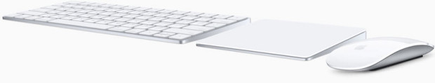 Apple Magic Keyboard 2, Trackpad 2, Mouse 2