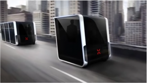 Self-driving Pods, Next V3.0 may change our public Transportation once and for all
