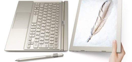 Toshiba dynaPad with Wacom Pen of 2048 pressure sensitivity