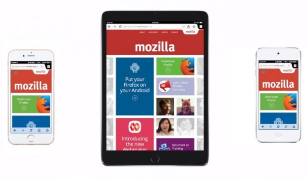 Mozilla Firefox for iOS devices released; now available for download