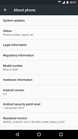 Moto X Style started getting Android 6.0 Marshmallow update