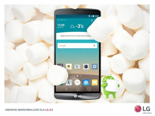 The LG G3 gets Android 6.0 Marshmallow Update