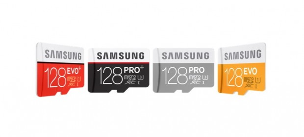 Samsung launches 128 GB PRO Plus microSD Cards