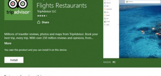 TripAdvisor app joins the Universal Windows 10 Platform