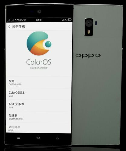Is this Oppo Find 9 with 6 GB of RAM?