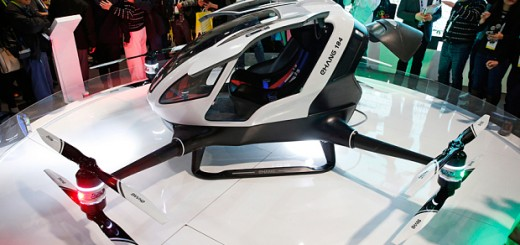 CES 2016: EHang 184 is a Passenger Drone that looks like a giant Quadcopter